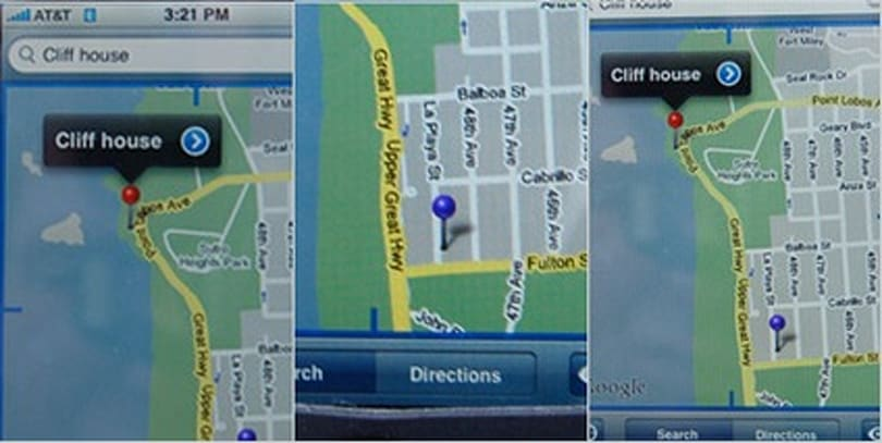 Testing the iPhone's fake GPS