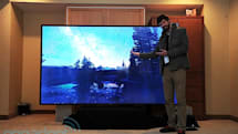 Westinghouse's 110-inch 4K television costs $300,000, is built to order (eyes-on)
