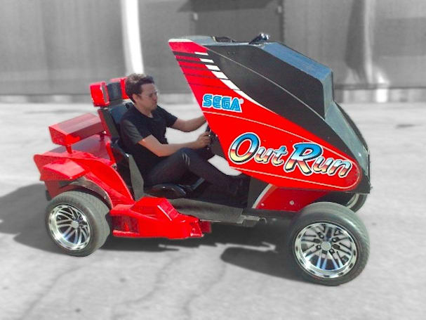 OutRun AR project lets you game and drive at the same time, makes us drool