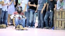 Dyson's engineers head off to the races, create dragsters using spare parts, DC-16 motors (video)