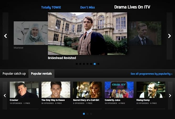 ITV Player revamp brings ad-free TV rentals, keeps the free catch-ups