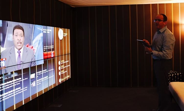 NDS' Surfaces turns your wall into a TV, or a TV into a wall... one of those two