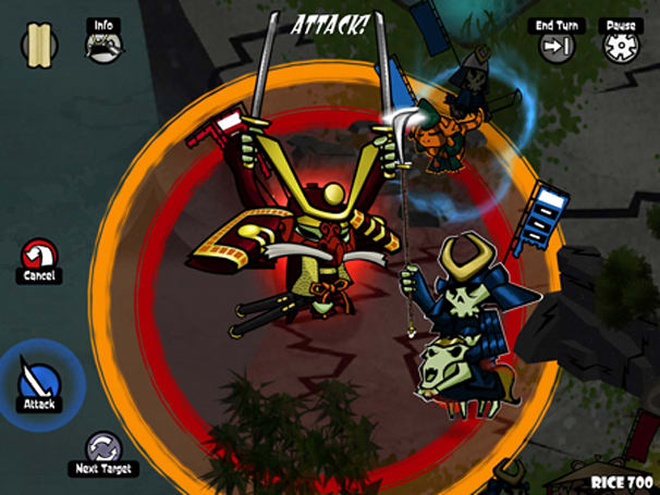 Skulls of the Shogun assaults iOS starting today