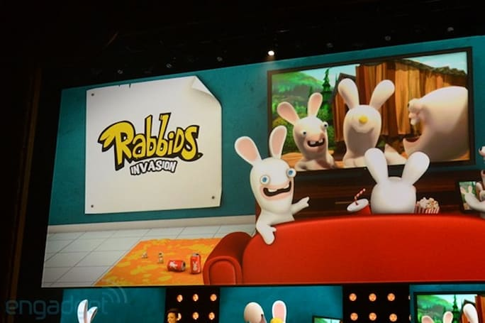 Ubisoft announces Rabbids Invasion 'interactive TV show' coming to Xbox One