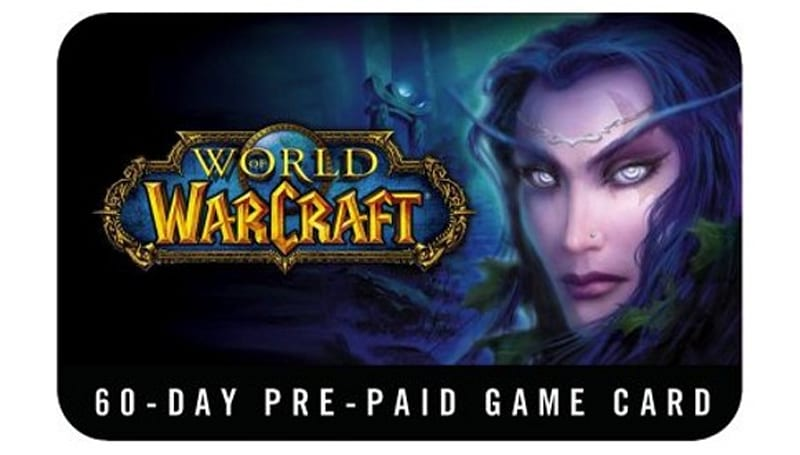 12 Days of Winter Veil Giveaway: 60-day prepaid game cards
