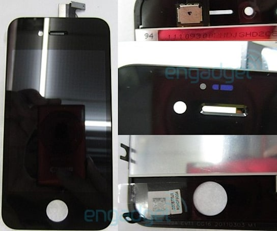 iPhone N94 prototype's front assembly leaked, set to be an iPhone 4S?