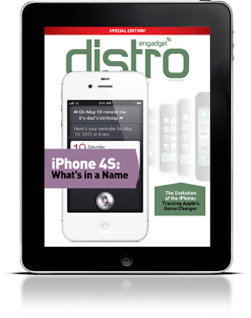 Engadget Distro's first special edition traces the origins of the iPhone 4S