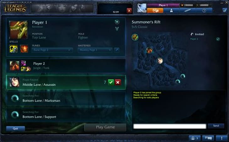 League of Legends aims for harmony with new Team Builder feature
