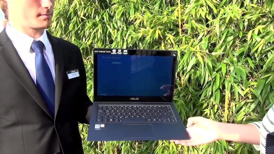 ASUS' Zenbook UX301 Hands-on