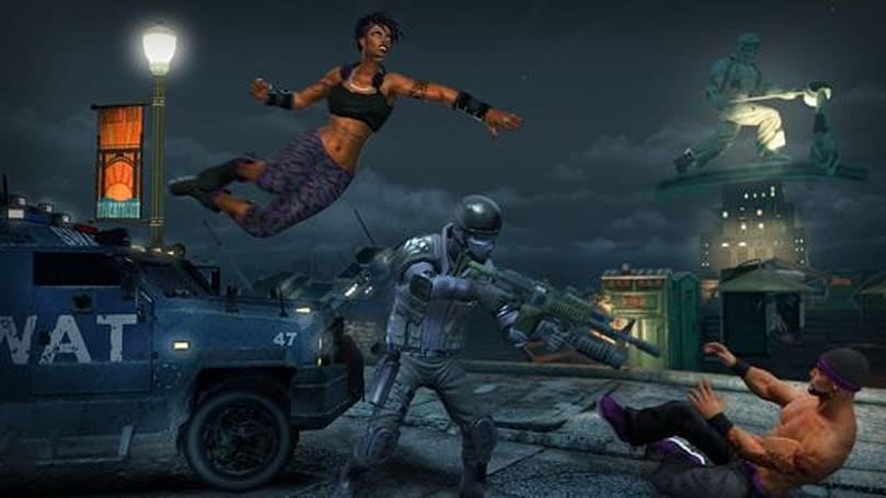 Stalk this Saints Row: The Third 'Bloodsucker' DLC trailer