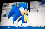 Sonic is in this Progressive commercial