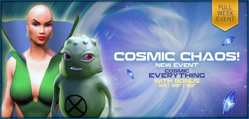 Marvel Heroes unleashes Cosmic Chaos Week