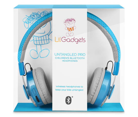 LilGadgets Untangled Pro Wireless Bluetooth Headphones are a great option for careful kids