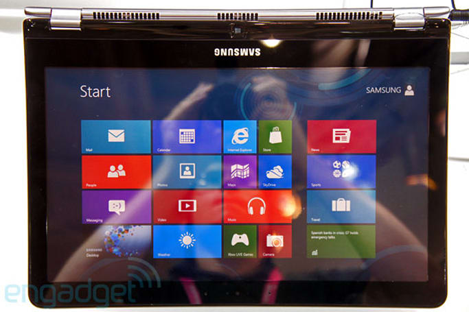 Samsung demos Series 5 Ultra Touch and Series 5 Ultra Convertible Ultrabooks, we go hands-on