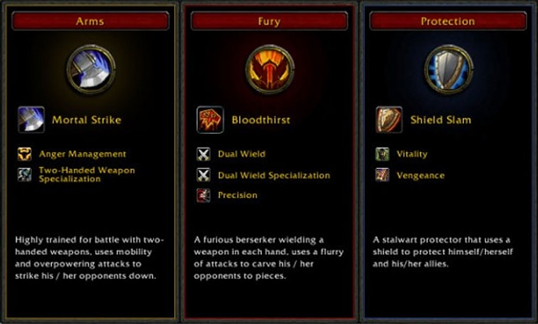 Cataclysm Beta: New 31-point talent trees, spec bonuses and more