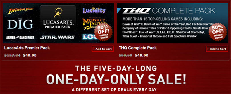 Steam Deals Day Four: Prince of Persia, Lucidity, Guild Wars marked down