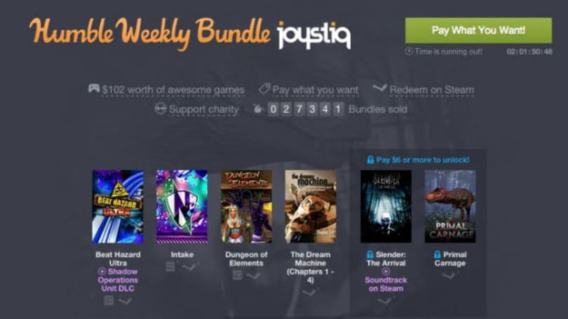 Joystiq Streams: Humble Bundle giveaway extravaganza