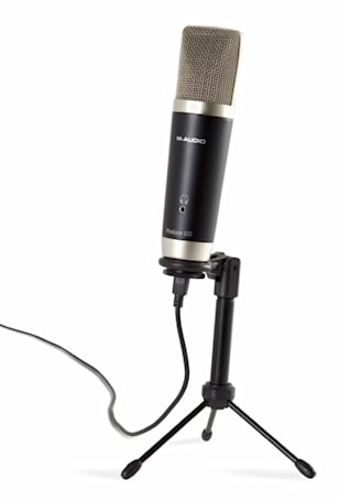 M-Audio introduces the Session Music Producer USB mic