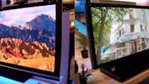 Bigger & biggest HDTVs: Sharp's 108 vs. Samsung's 102