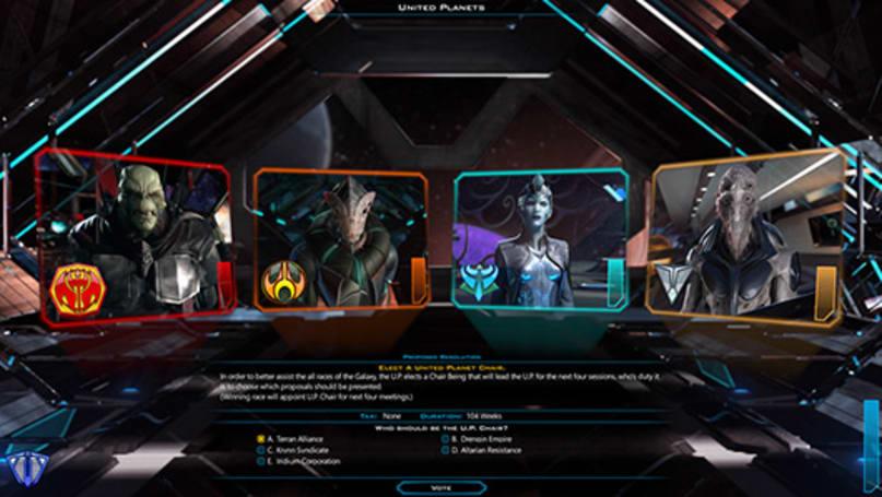 Galactic Civilization 3 gets diplomatic in Beta 2