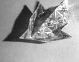 Self-folding origami folds itself, so that you don't have to