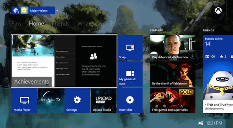 Xbox One November update detailed, 'rolling out' now