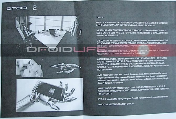 More Droid 2, Droid X details surface in leaked commercials