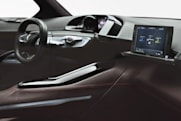 Peugeot shows off tablet-equipped HR1 concept vehicle