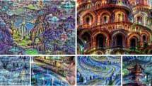 Google、人工神経ネットワークが見た『夢』を公開 (※ 微グロ注意)