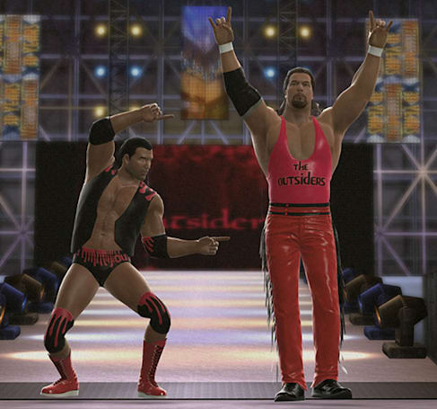 The NWO invades WWE 2K14 next week