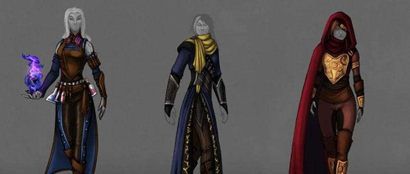 The armor of Camelot Unchained's mages