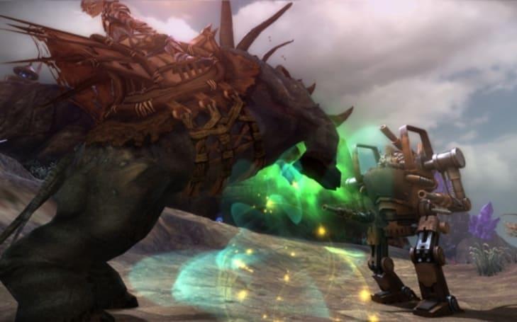 Black Gold Online brings mechs to PvP battlegrounds