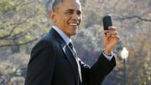 オバマ大統領がBlackBerryに替わるスマートフォンを入手したエピソードを語る。「私はハイテク・ガイだからね」