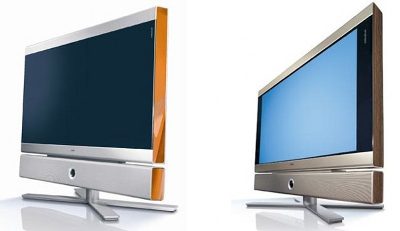 "Loewe Individual Selection TVs -- if you care more about the color ""of"" than ""from"" the TV"