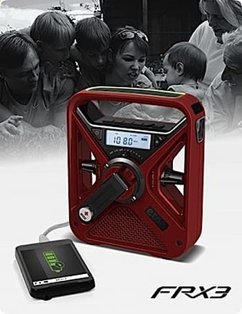 Eton anticipates next natural disaster with self-powered FRX radios
