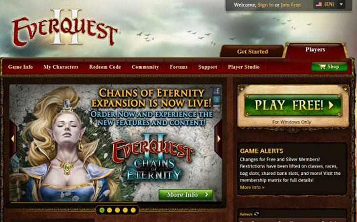 The Daily Grind: What frustrates you about official game sites?