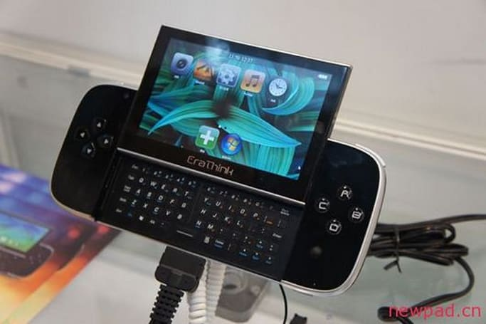 EraThink EraPalm runs like a netbook, looks like a portable gaming handheld