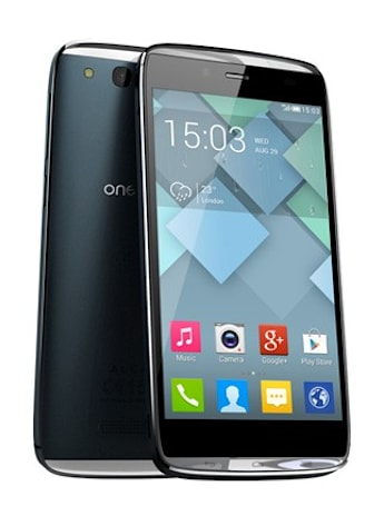 Alcatel shows off One Touch Idol Alpha's 4.7-inch display and light-up edges