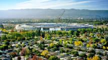 Apple 的太空飛船總部正式定名為「Apple Park」