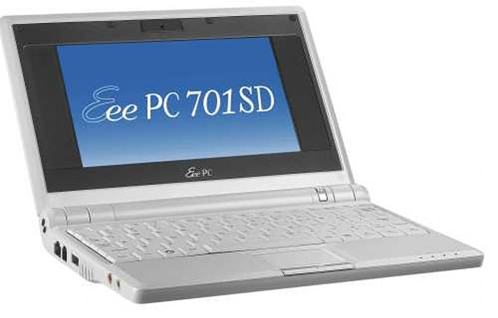 ASUS loops all the way around with the Eee PC 701SD
