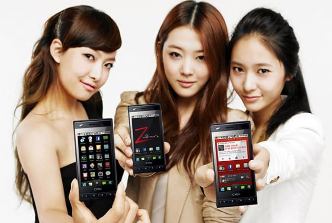 LG Optimus Z now available in South Korea
