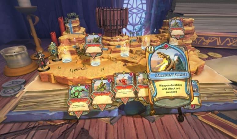 RuneScape announces Hearthstone-like card game