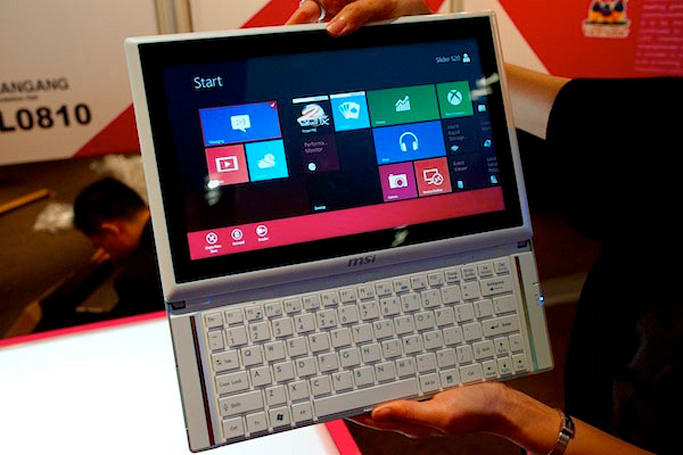MSI unwraps Slider S20 hybrid tablet with Windows 8 (hands-on)