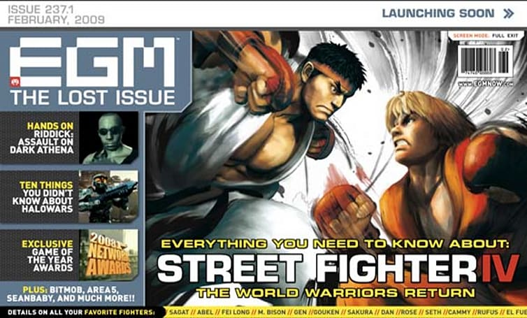 EGM Now launches with ... digitized final issue of old EGM?