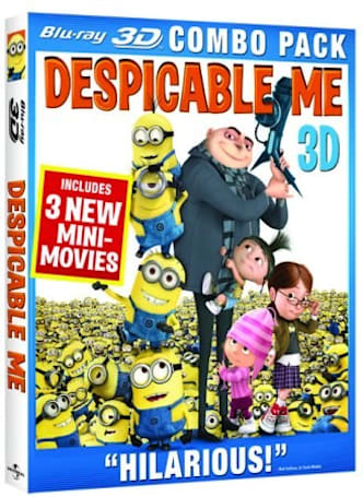 Despicable Me Blu-ray, 3D combo packs dated for December 14