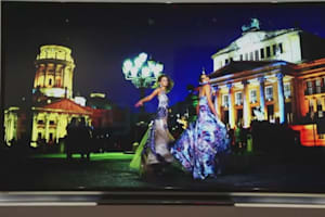 Toshiba 84-Inch 4K Quad Full HD TV Hands-On