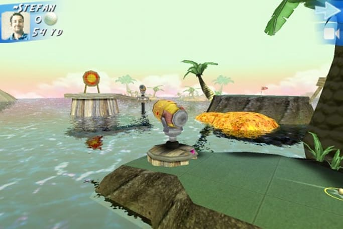First iPhone game with 3GS-specific graphics released?