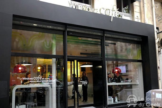 Microsoft's Windows Cafe opens its doors in Paris
