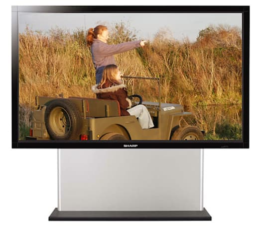 Sharp's 108-inch LCD HDTV goes Down Under