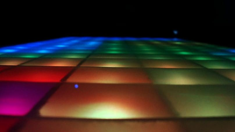 LED coffee table busts a multicolored move (video)